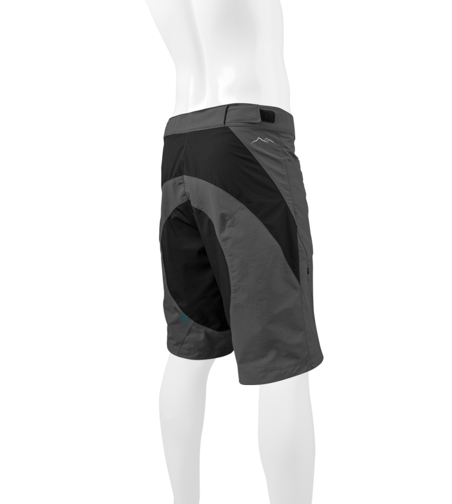 Charcoal MTB Short Off Back