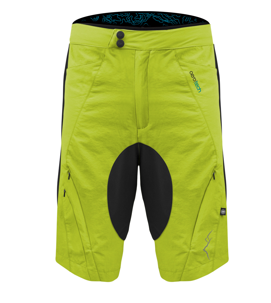 Safety Yellow MTB Short Front