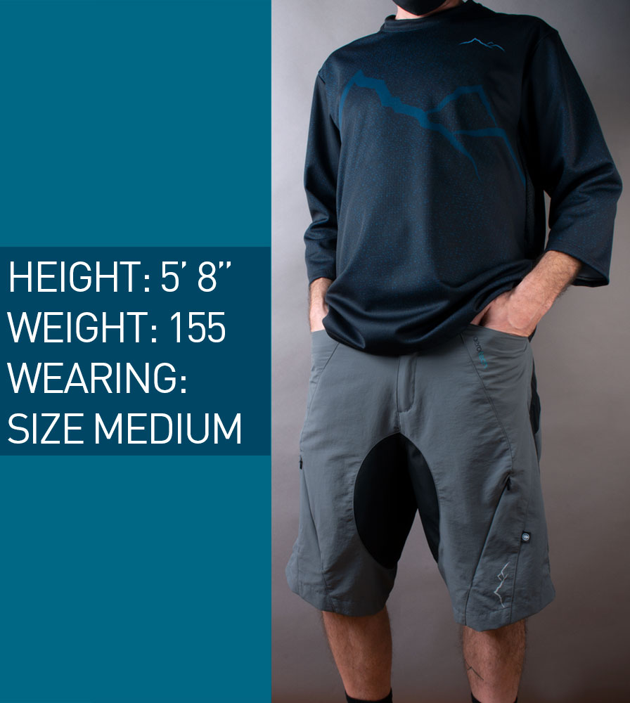 Elite MTB Shorts Size Model
