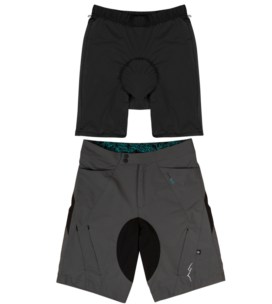 Shell and Liner MTB Shorts