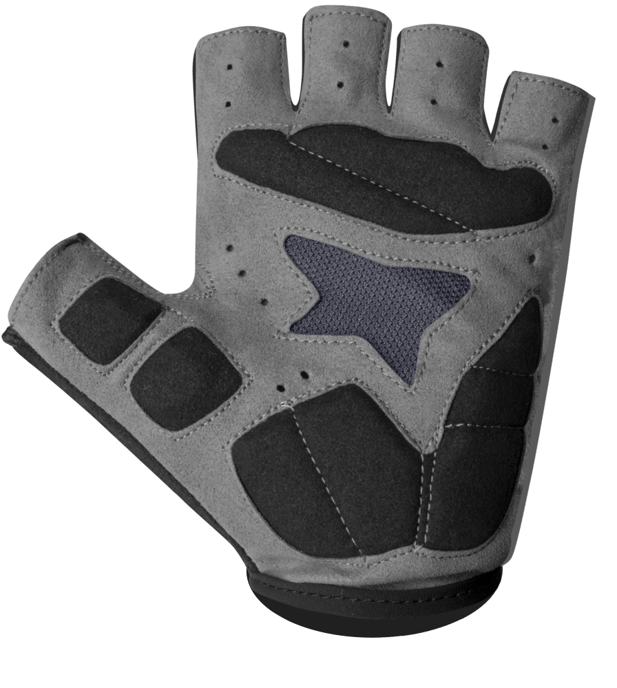 Lightweight Reflective Cycling Glove Palm Detail