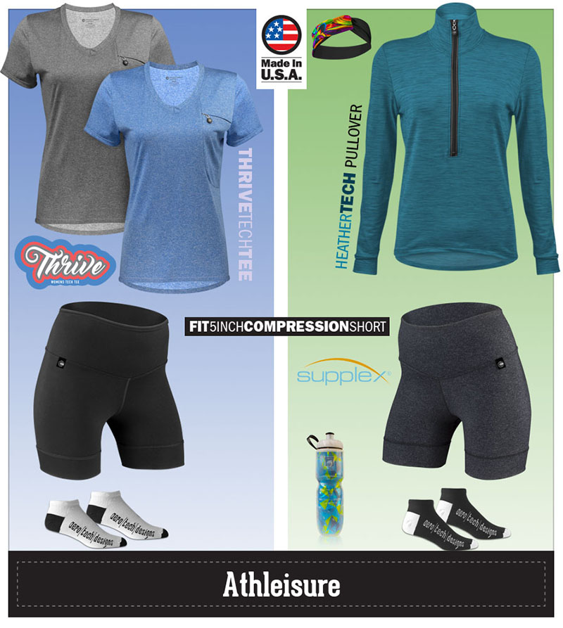 Perfect for athleisure kits