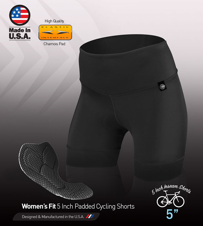 Thrive 5 Inch Cycling Short with Goddess Chamois Pad
