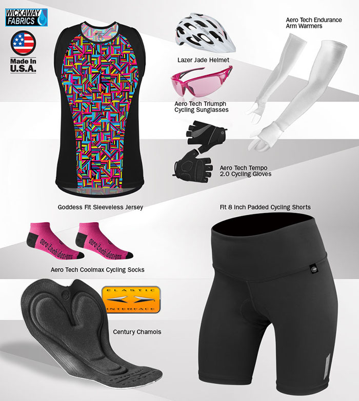Mix and match with other Thrive cycling accessories to make the perfect cycling kit