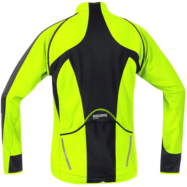 Gore Bike Wear Men's Phantom 2.0 Softshell Cycling Jacket Zip off Sleeves SMALL
