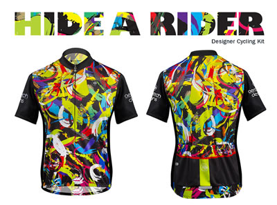 Hide-A-Rider Bicycle Jersey