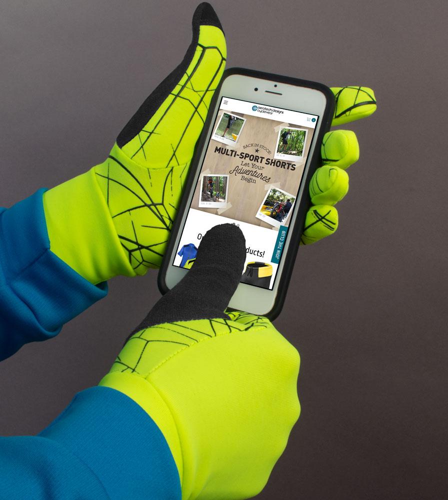 Touch Screen Thumb Print