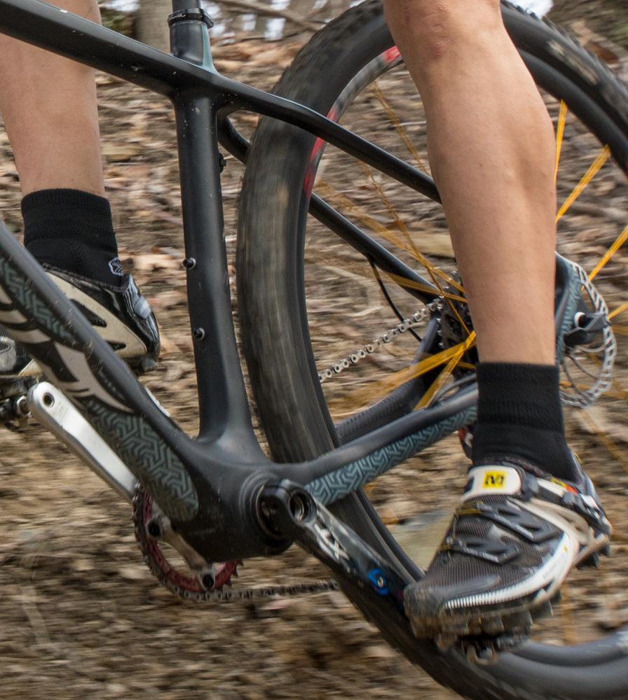 Black All Season Coolmax Cycling Socks