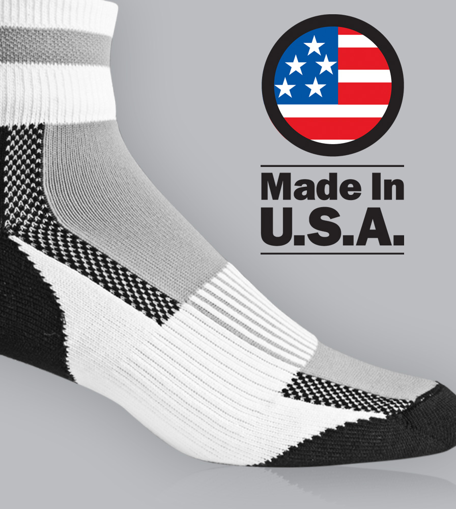 Made in the USA Cycling Sock
