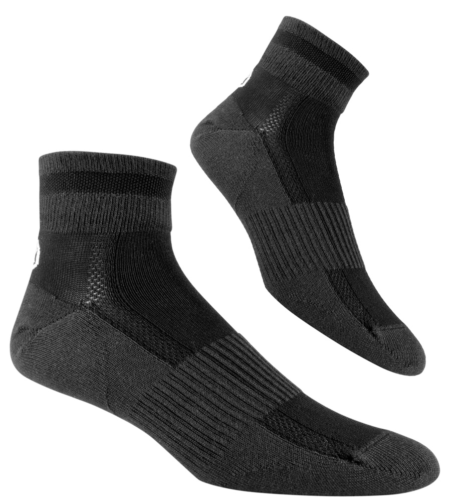Black All Season Coolmax Cycling Socks Group