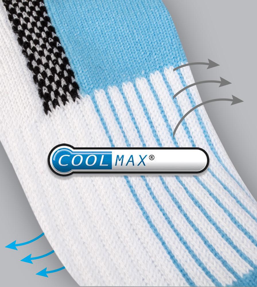 Coolmax Athletic Fabric
