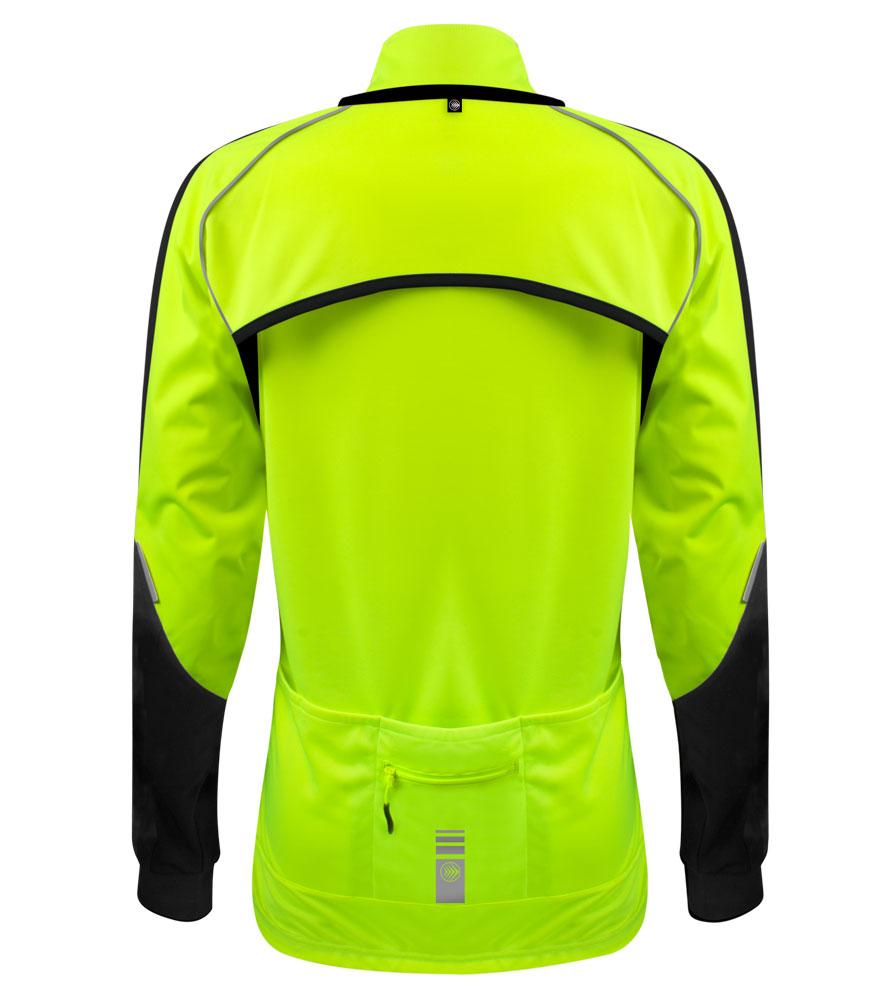 Women's Bolero Windbreaker Jacket Back View