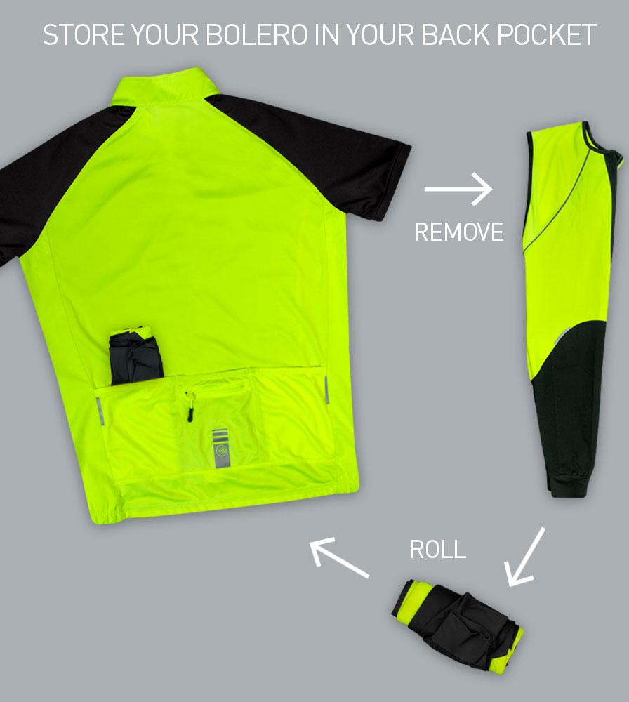 Sleeves Pack Easily into Rear Pockets