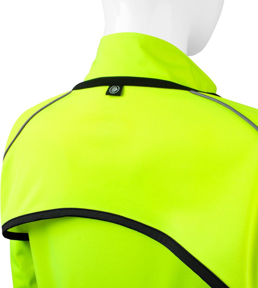 Women's Bolero Windbreaker Jacket Back Flap Detail