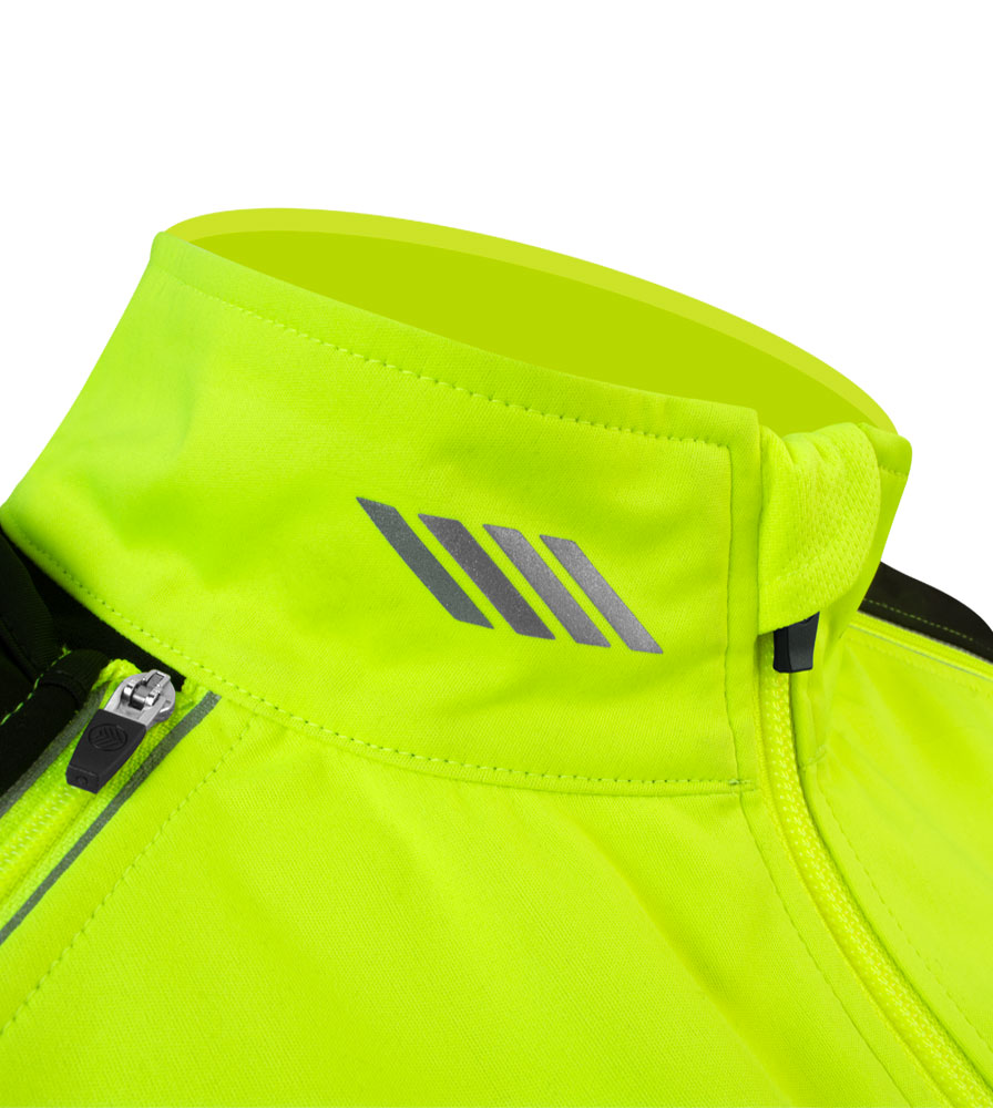 Women's Bolero Windbreaker Jacket Collar Detail