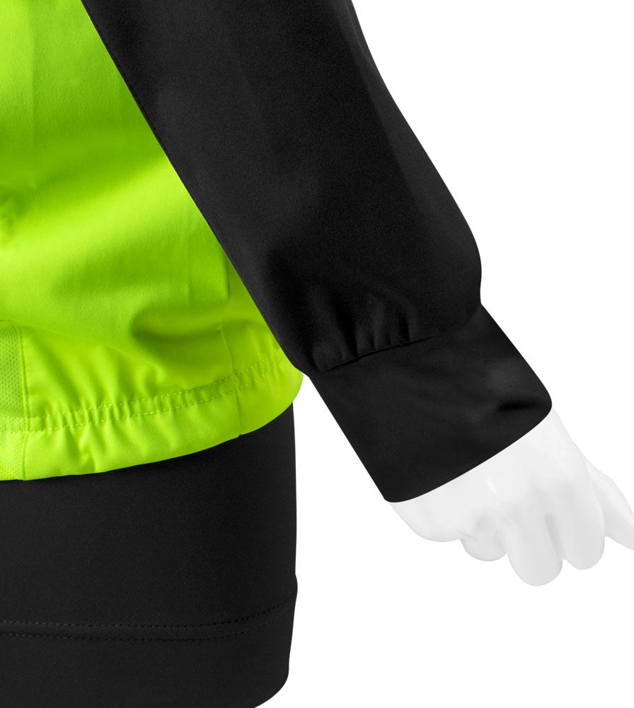 Women's Bolero Windbreaker Jacket Cuff Detail