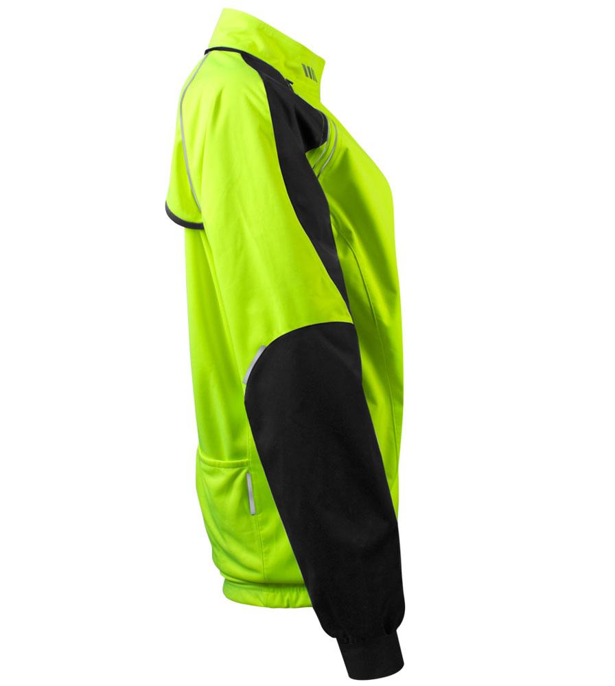 Women's Bolero Windbreaker Jacket Side View