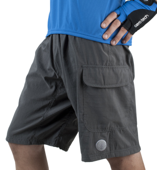 Men's cargo bicycle touring shorts