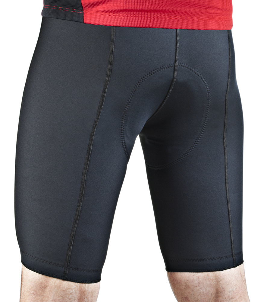 Men's Century Cycling Shorts Model Back View