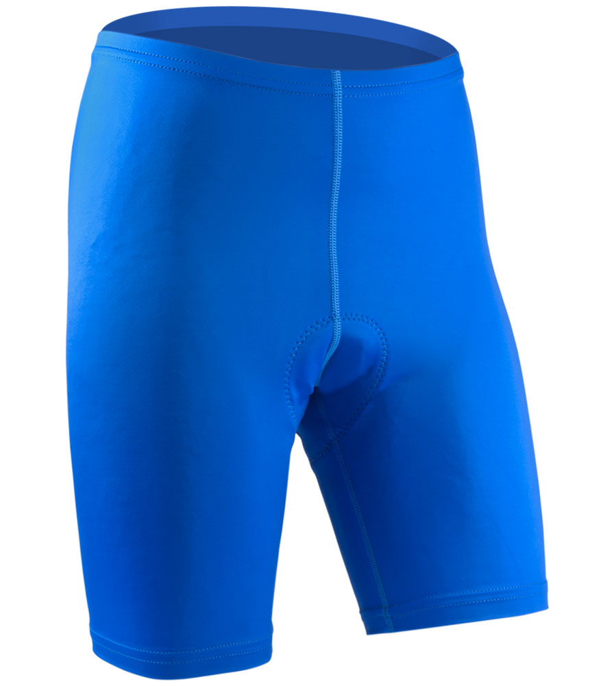 Men's USA Classic Bike Shorts in Royal Front View
