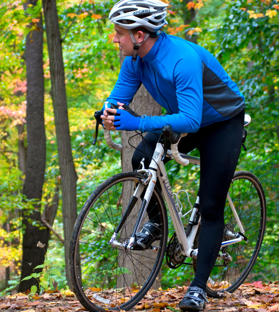 Men's USA Classic Padded Bike Tights Location 5