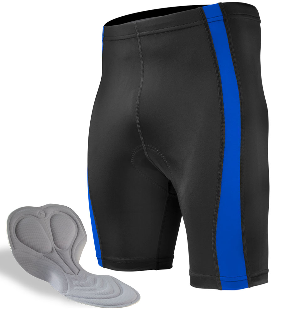 Men's USA Classic 2.0 Cycling Short in Royal Blue with Chamois Pad