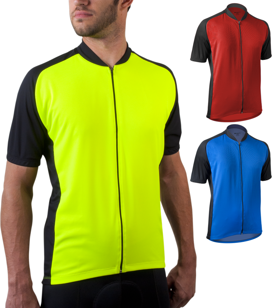 Men's Club Bike Jersey Color Options
