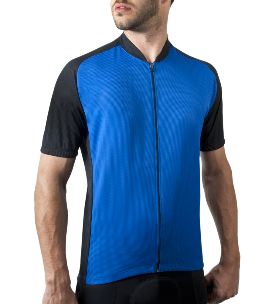 Royal Blue Men's Club Bike Jersey