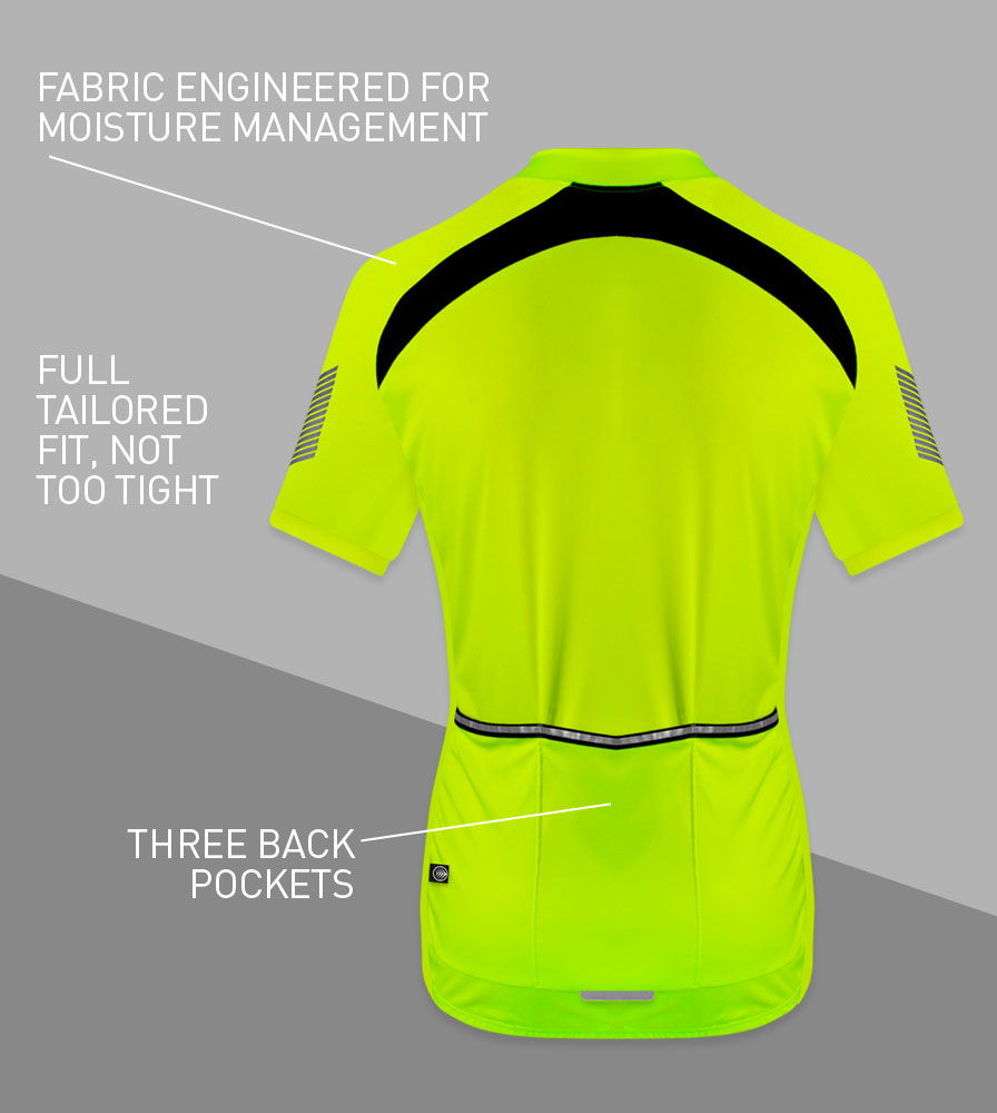 Men's Elite Cycling Jerseys Back Features