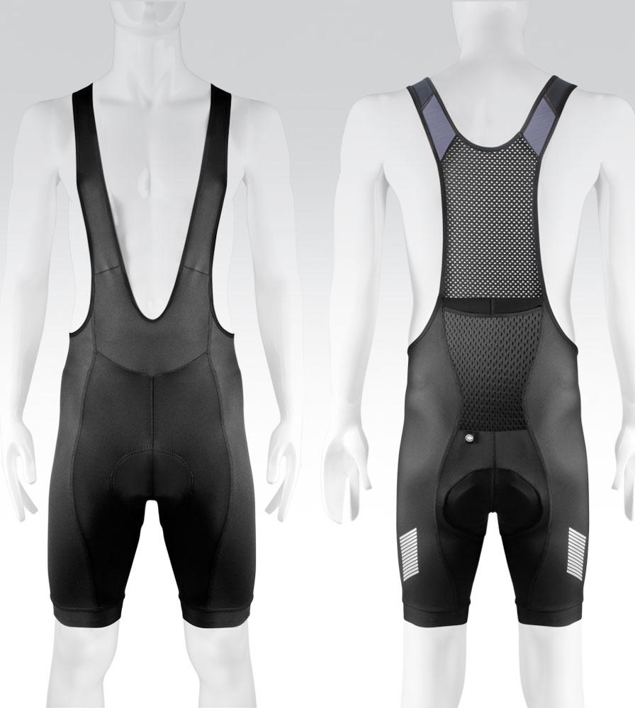 Men's Elite Black Cycling Bib-Shorts