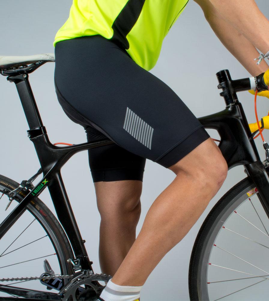 Men's Elite Bib-Shorts Studio Model Side View