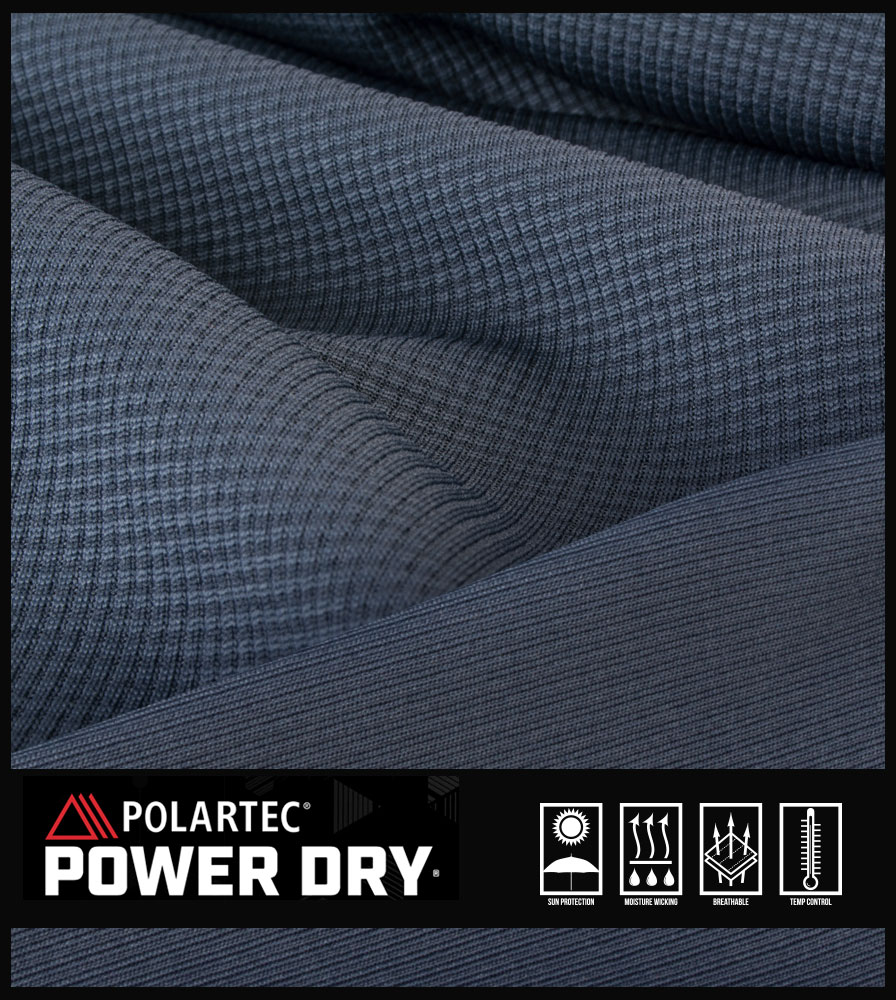 Men's Equator Casual Cycling Jersey Polartec Power Dry Fabric