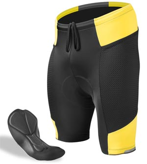 Men's Gel Touring Bike Short
