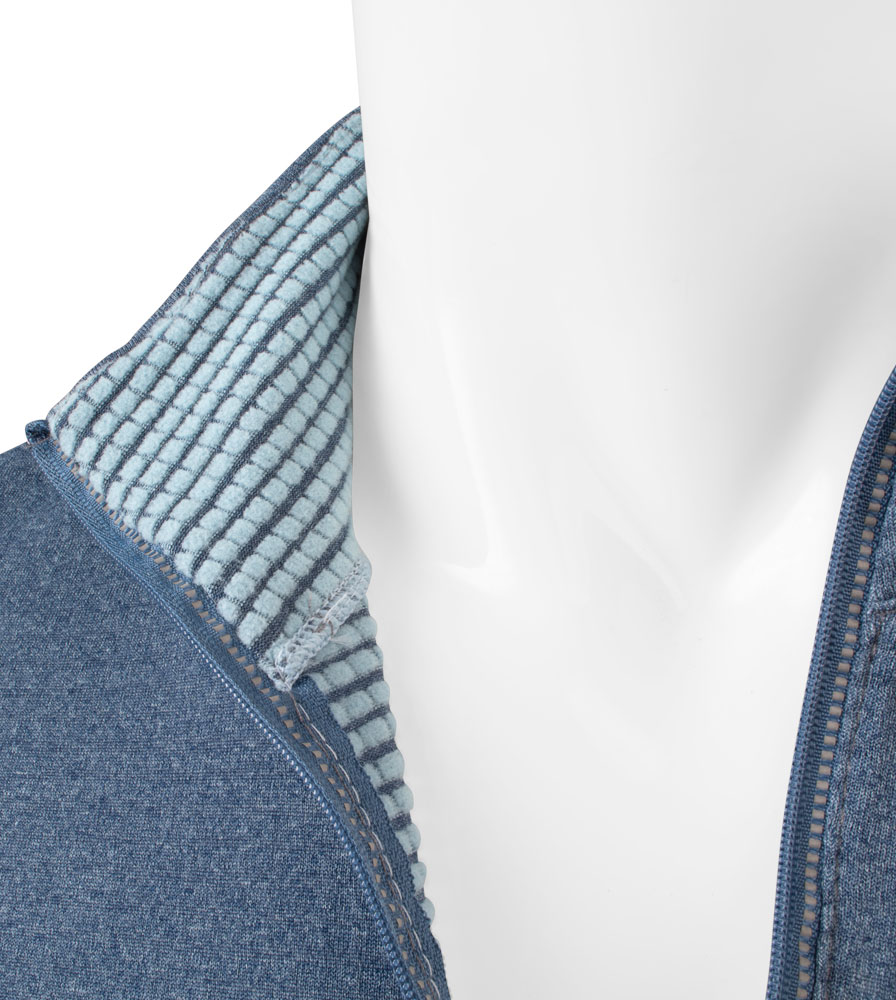 Men's Hemisphere Long Sleeve Jersey Inside Collar Detail