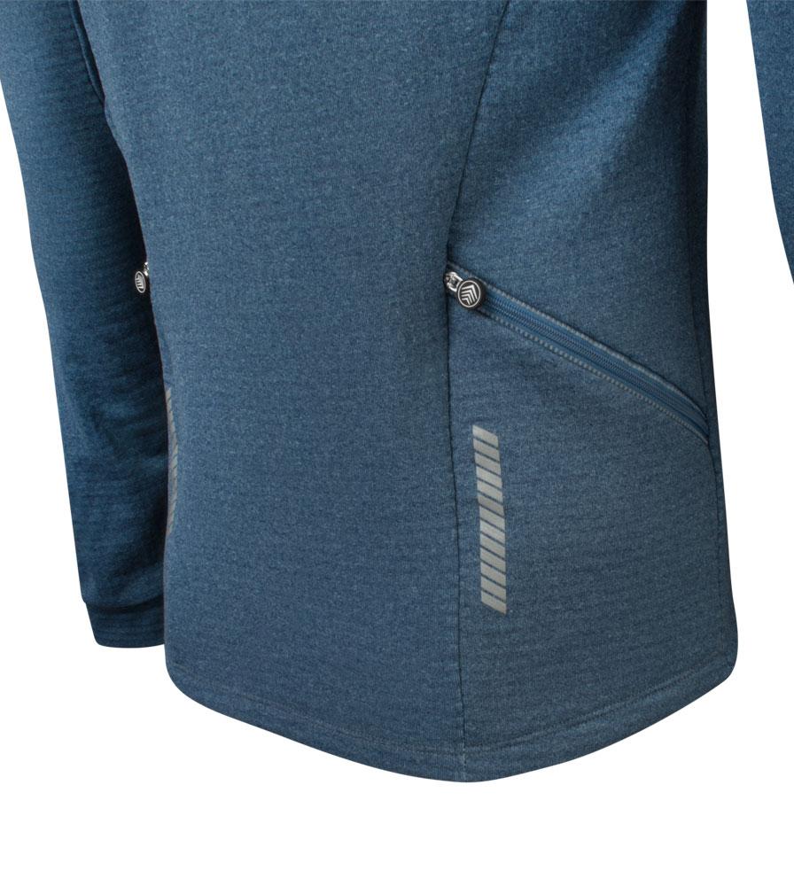 Men's Hemisphere Long Sleeve Jersey Back Pocket Detail