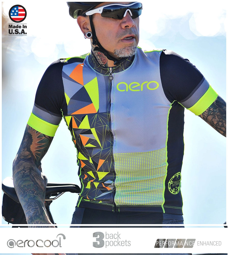 Men's Premiere AggroTech Cycling Jersey