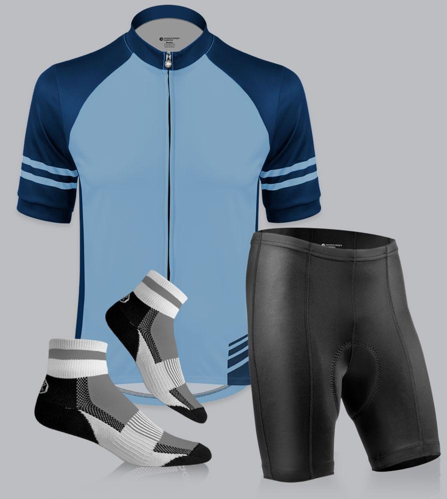 Men's Pro Bike Short Cycling Kit