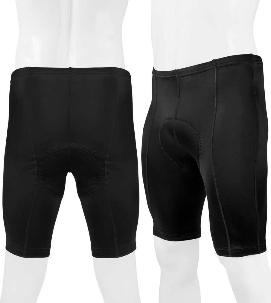 Men's Pro Bike Shorts Full View Back and Front
