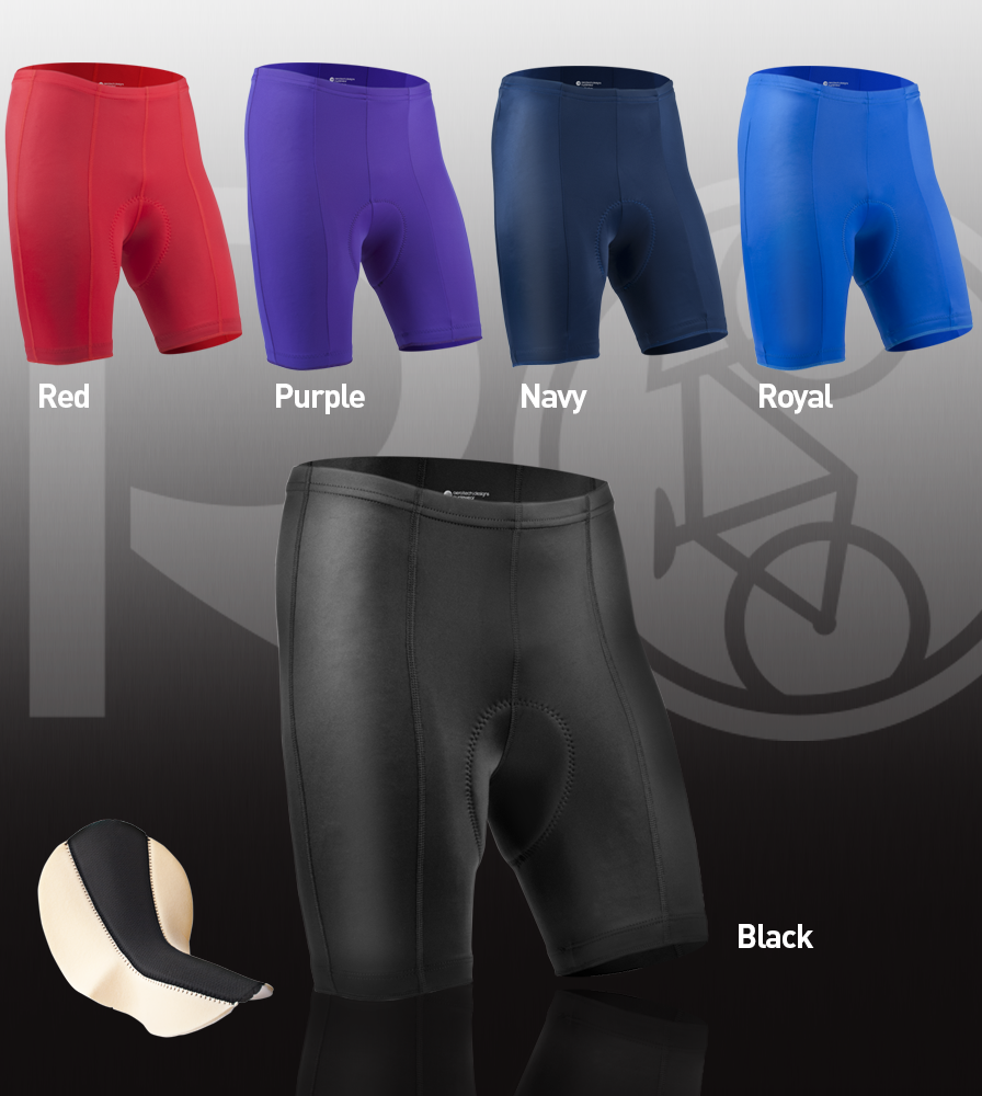 Pro Bike Short Color Options