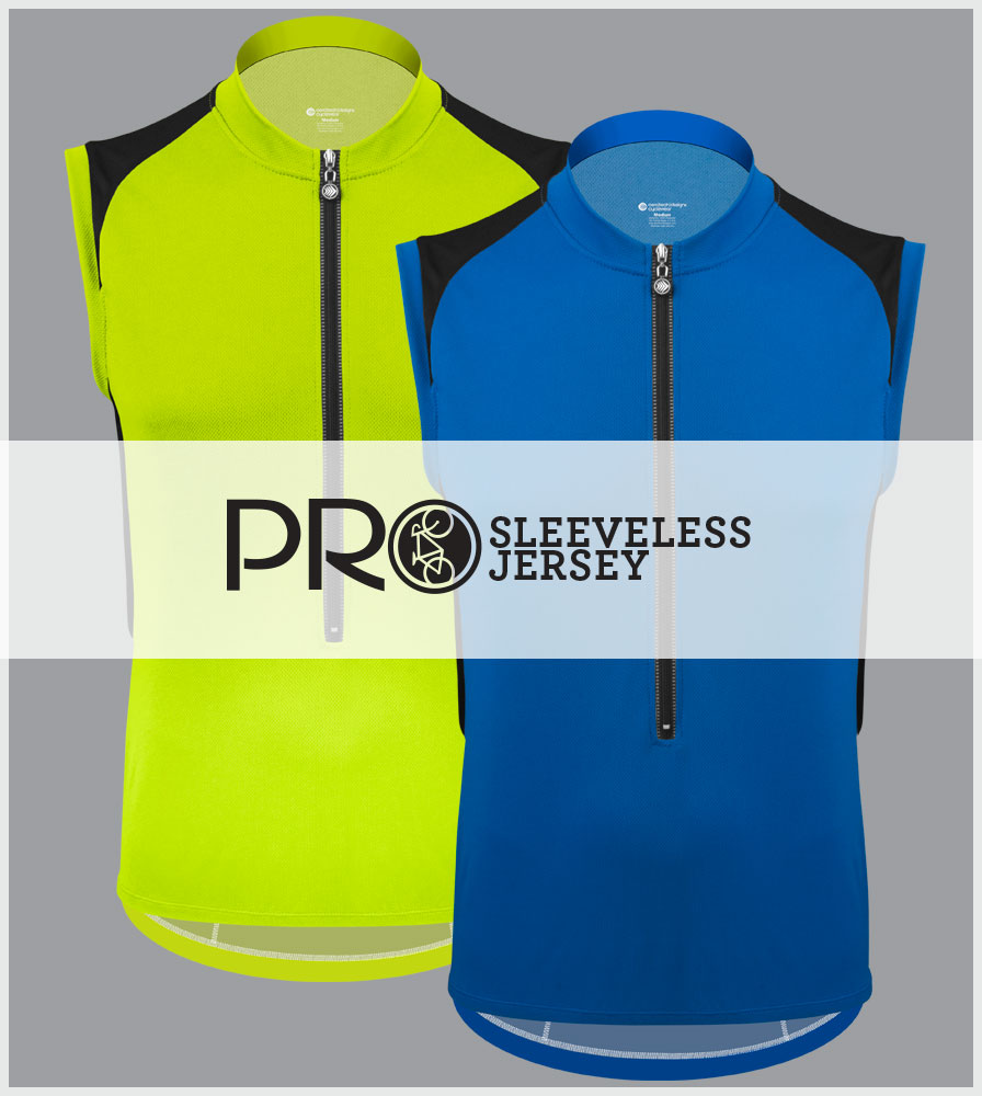 Men's Pro Sleeveless Jersey