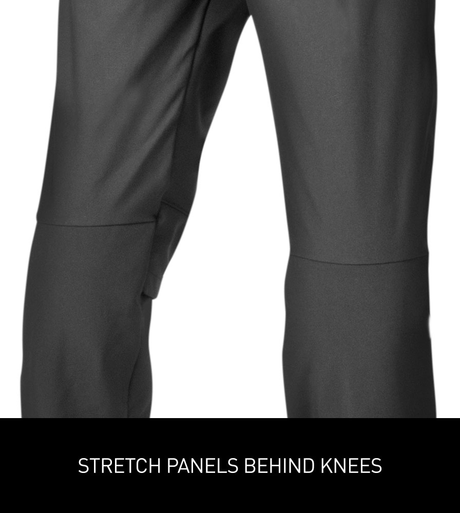 Men's Thermal Wind Proof Cycling Pants Stretch Leg Panels Behind Knee