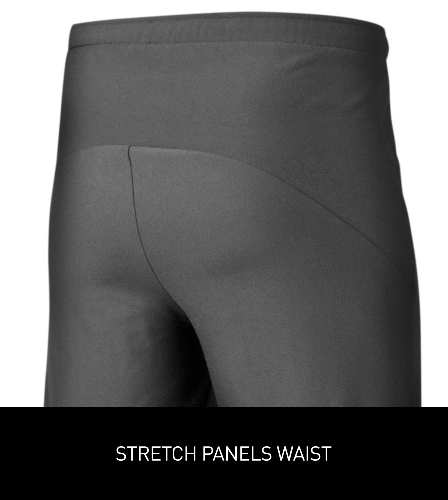 Men's Thermal Wind Proof Cycling Pants Stretch Waist Panel