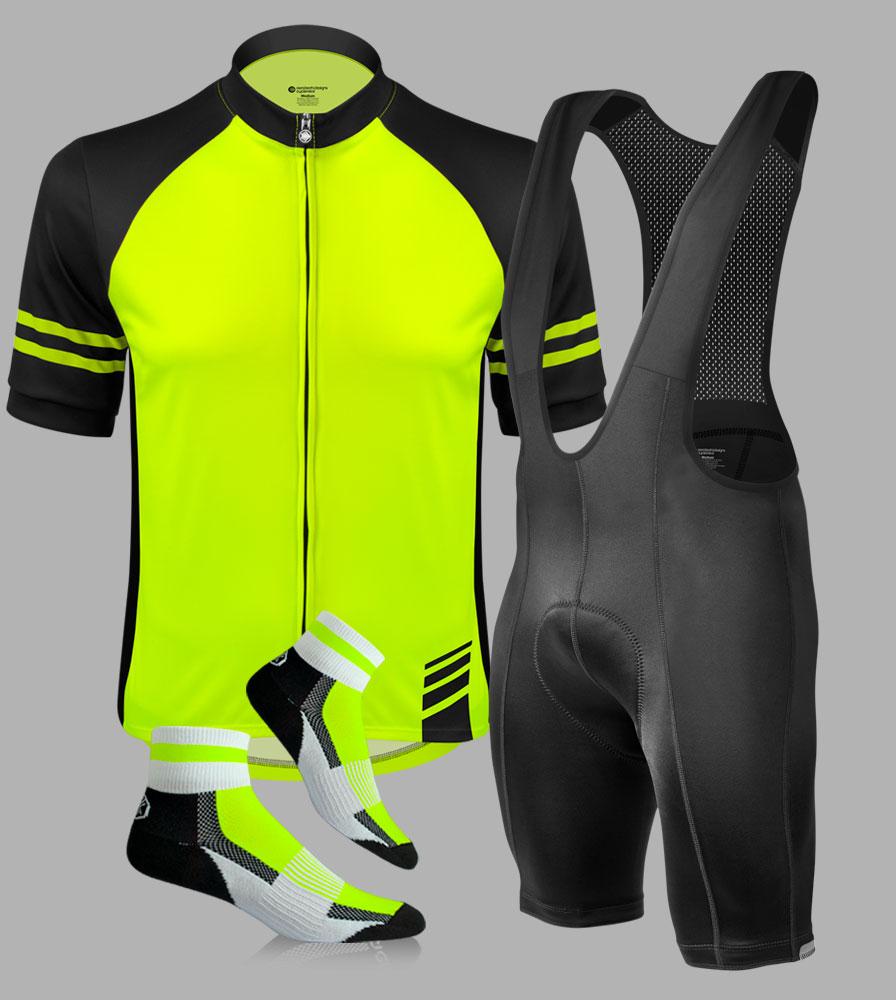 Men's Top Shelf Cycling Kit