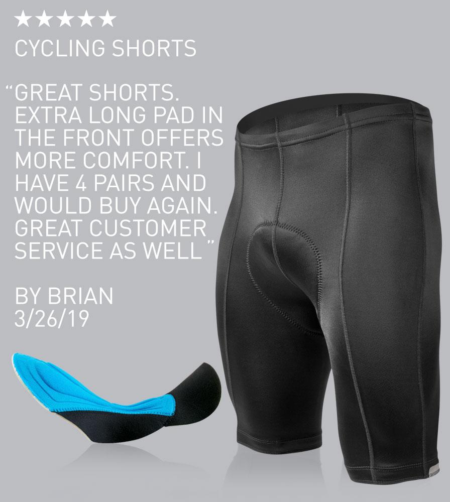 Five Star Reviewed Top Shelf Cycling Shorts