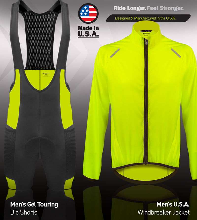 Tall Men's USA Windbreaker Jacket Kit