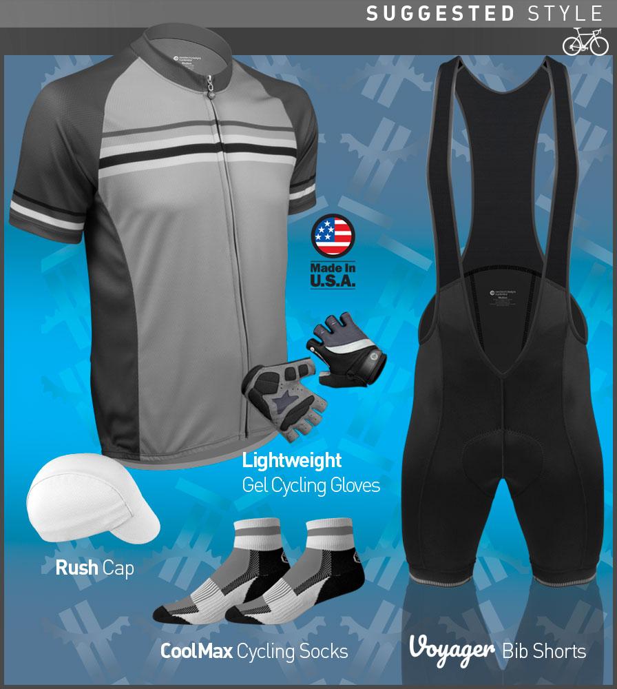 Men's Voyager Cycling Kit