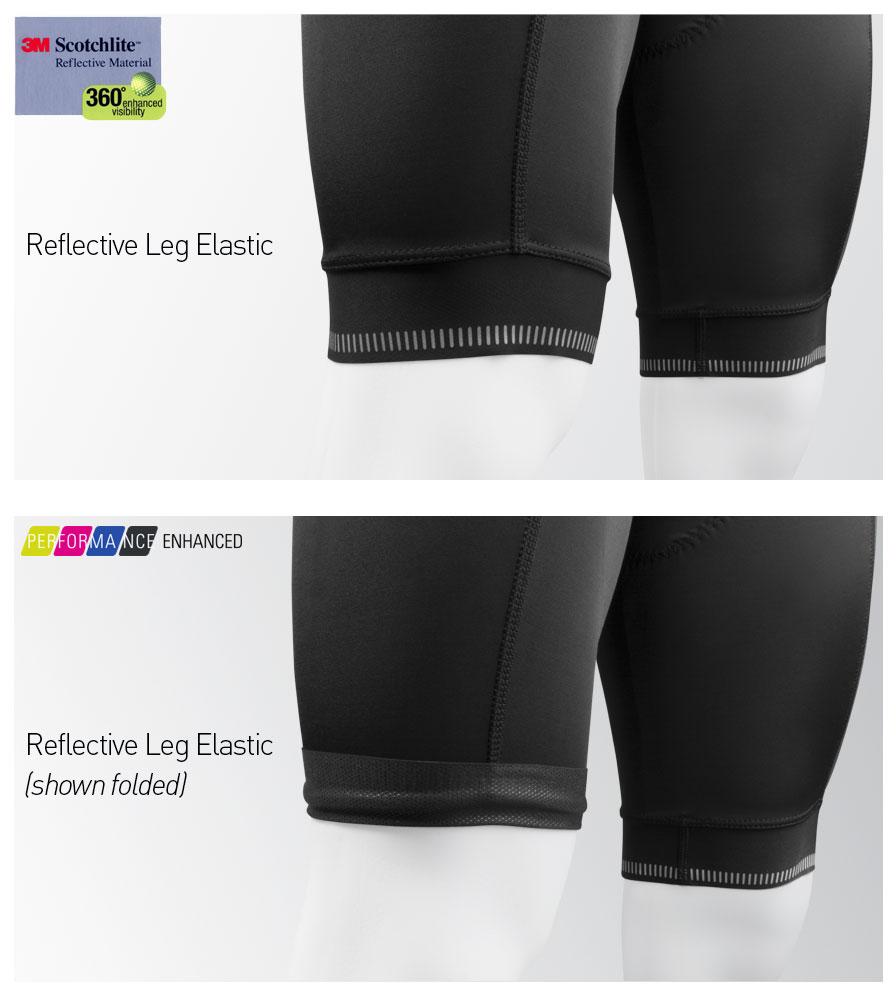Men's Voyager Bib Short Leg Gripper Information