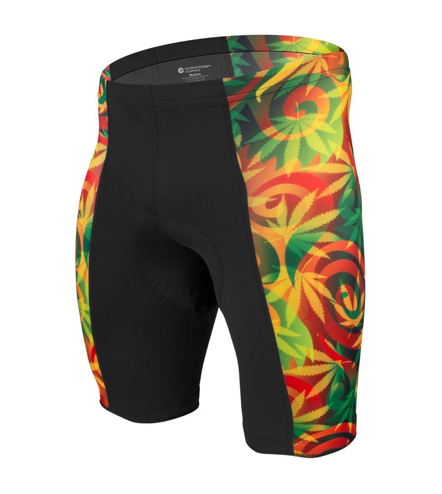 Men's Pro Rasta Cycling Shorts