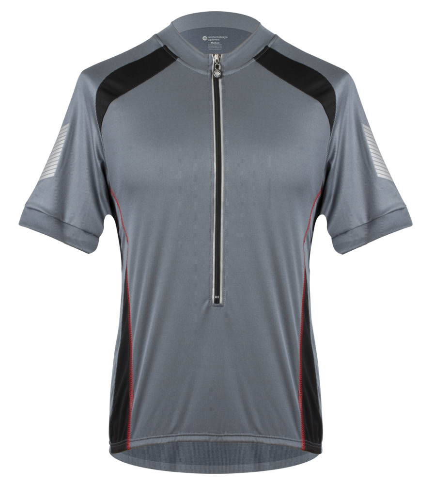 Men's Elite CoolMax Jersey in Charcoal