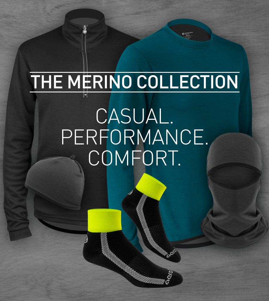 Merino Wool Cycling Collection